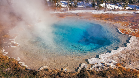 Yellowstone Geothermal Features 6